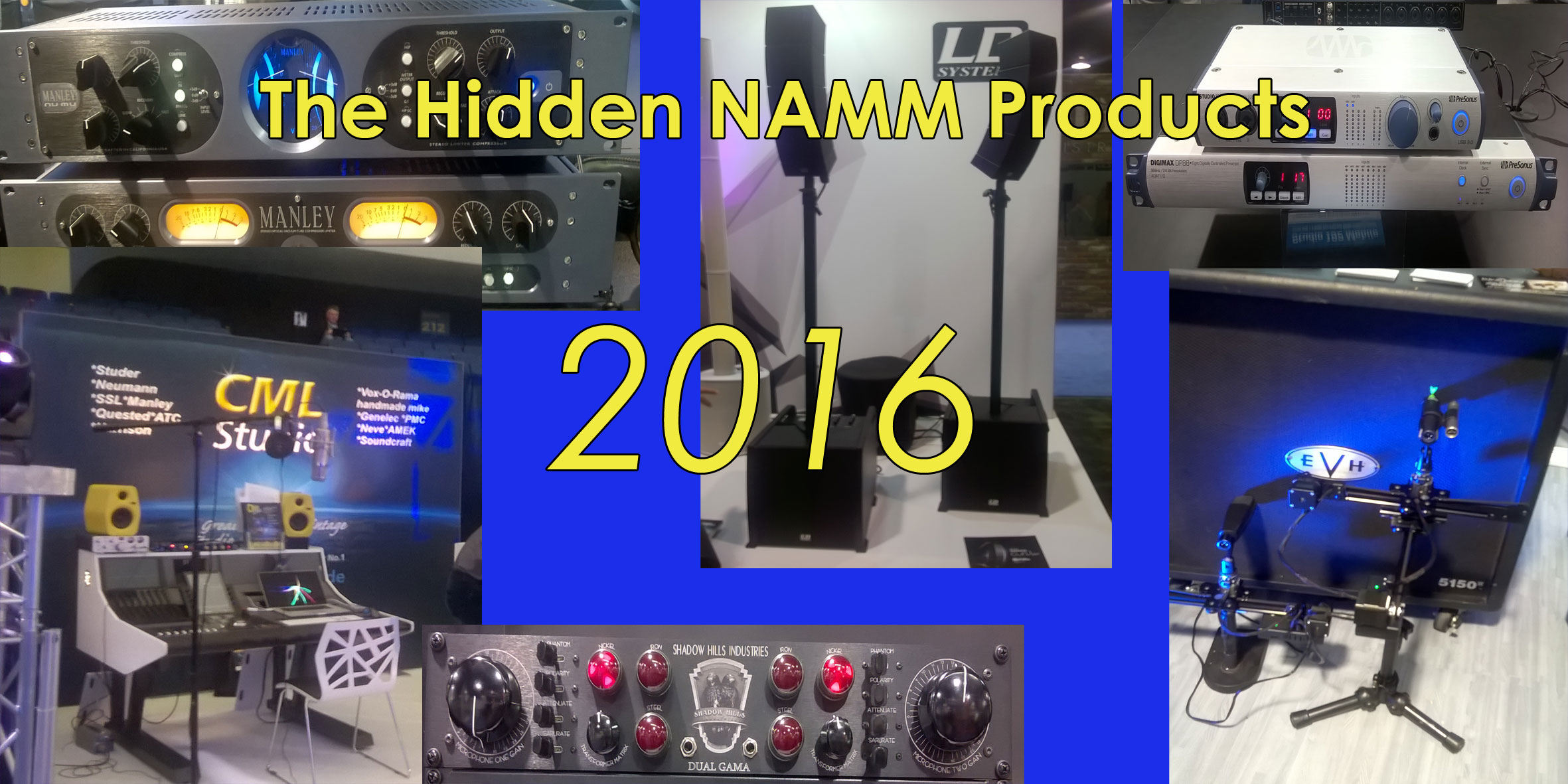 New Hidden Products Namm 2016