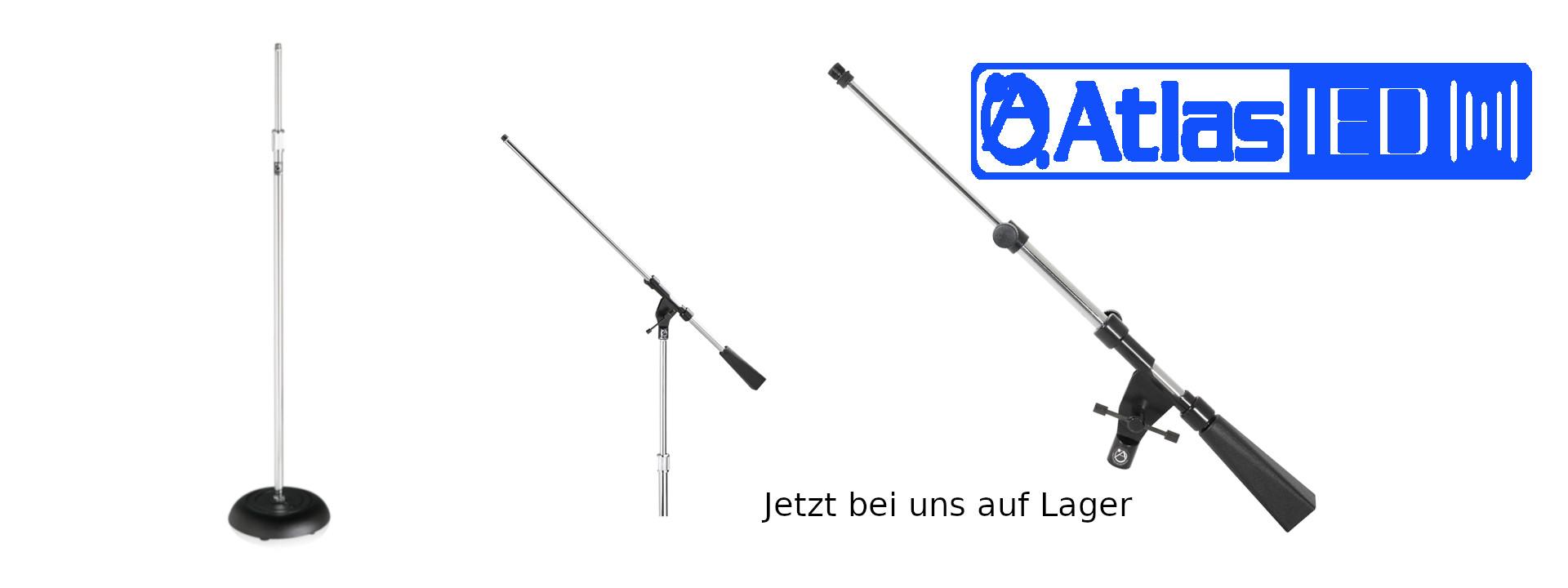 Studio Mikrofon Stative von Atlas